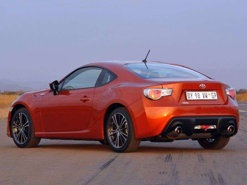 Toyota 86 ZN6 Coupe 2.0 MT (2012 – n. In.)