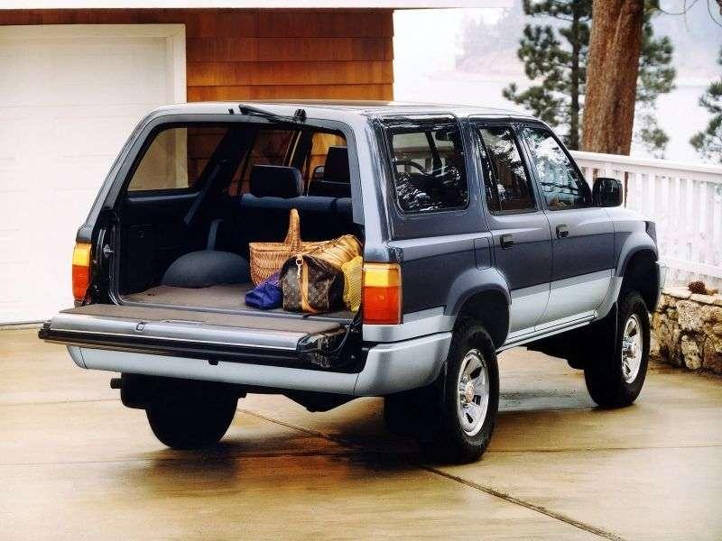 Toyota 4runner 2nd generation SUV 5 bit. 2.4 TD MT (1989–1995)