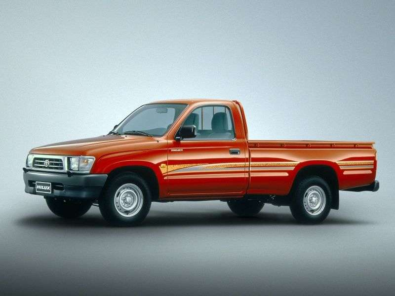 Toyota Hilux 6 generation pickup 2 bit. 2.4 MT (1997–2001)