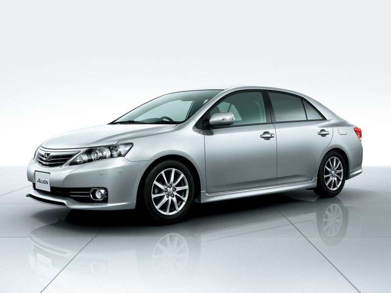 Toyota Allion T265 [restyling] 1.8 CVT sedan (2009 – n.)