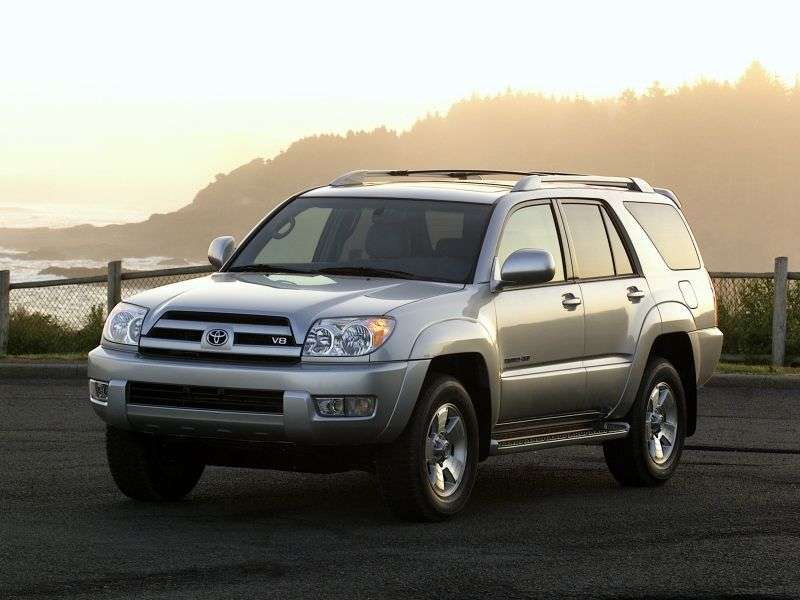 Toyota 4runner 4th generation SUV 4.7 AT (2003–2009)