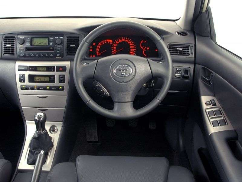 Toyota Corolla E130 [restyling] Fielder wagon 5 dv. 1.8 AT (2004–2006)