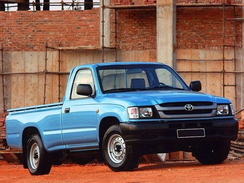 Toyota Hilux 6th generation [restyling] pickup 2 dv. 2.0 AT (2001–2003)
