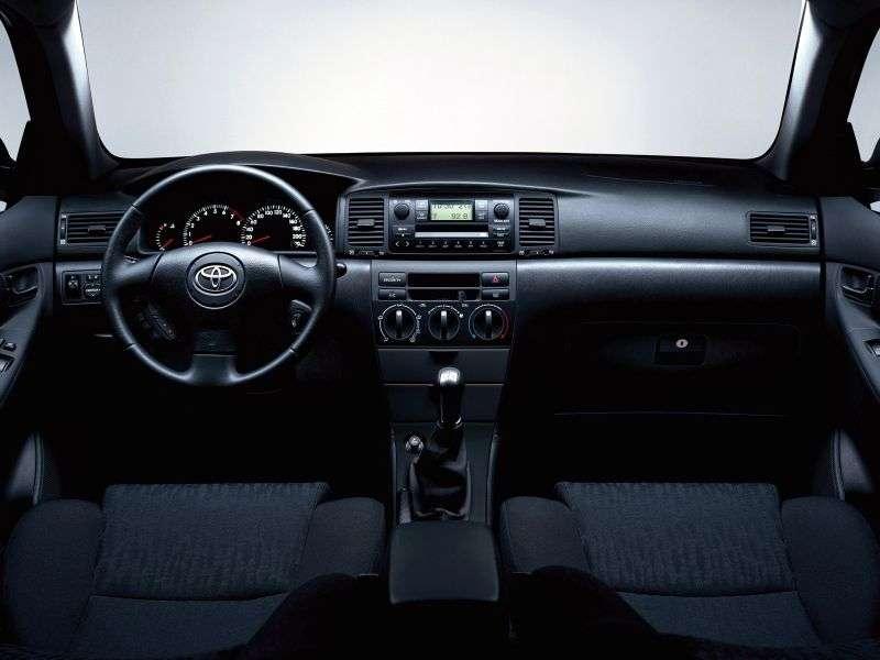 Toyota Corolla E130 [restyling] CN spec. 4 door sedan 1.6 AT (2007 – current century)