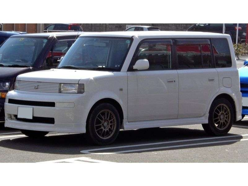Toyota BB 1 generacji [zmiana stylizacji] minivan 1.5 AT 2WD (2003 2005)