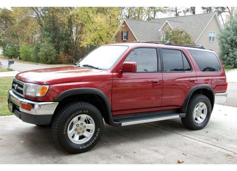 Toyota 4runner 3 generation SUV 5 bit. 2.7 MT AWD (1995–2003)