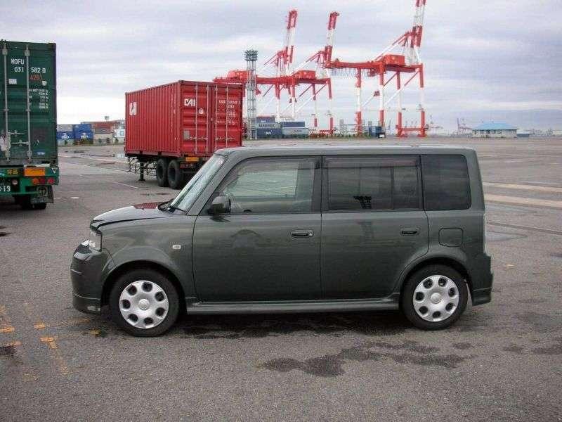 Toyota BB 1 generacji [zmiana stylizacji] minivan 1.5 AT 4WD (2003 2005)