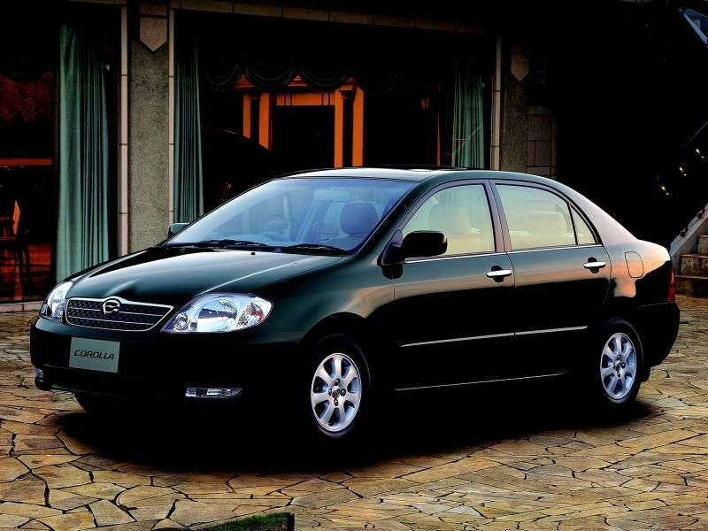 Toyota Corolla E120JDM 4 door sedan. 1.8 AT 4WD (2000–2002)
