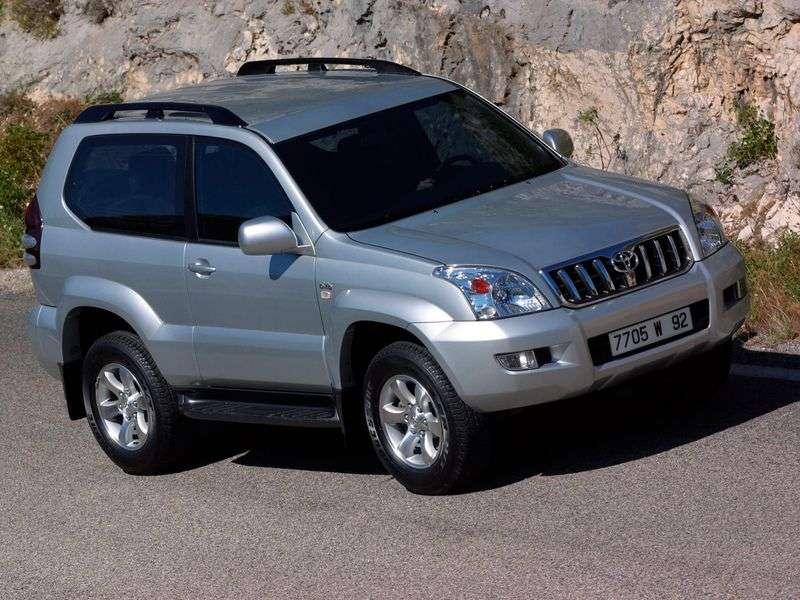 Toyota Land Cruiser Prado J120 3 bit off road vehicle 3.0 TD MT (2002–2006)