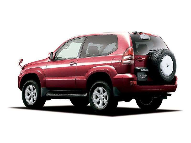 Toyota Land Cruiser Prado J120 3 bit off road vehicle 3.0 TD AT (2006–2009)