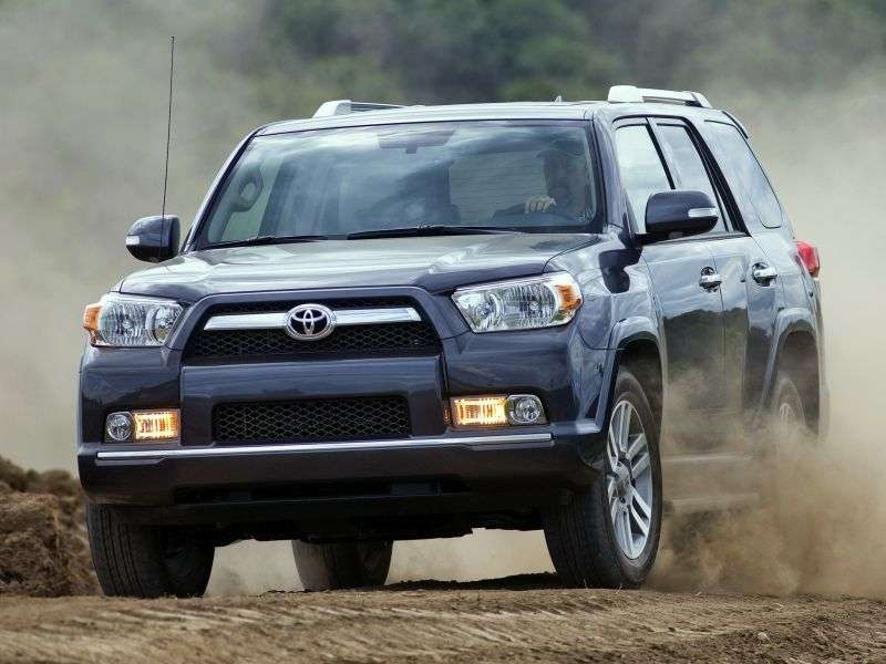 Toyota 4runner 5th generation SUV 4.0 AT (2009 – n.)