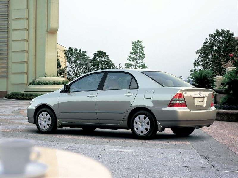 Toyota Corolla E120JDM 4 door sedan. 2.2 D MT (2000–2004)