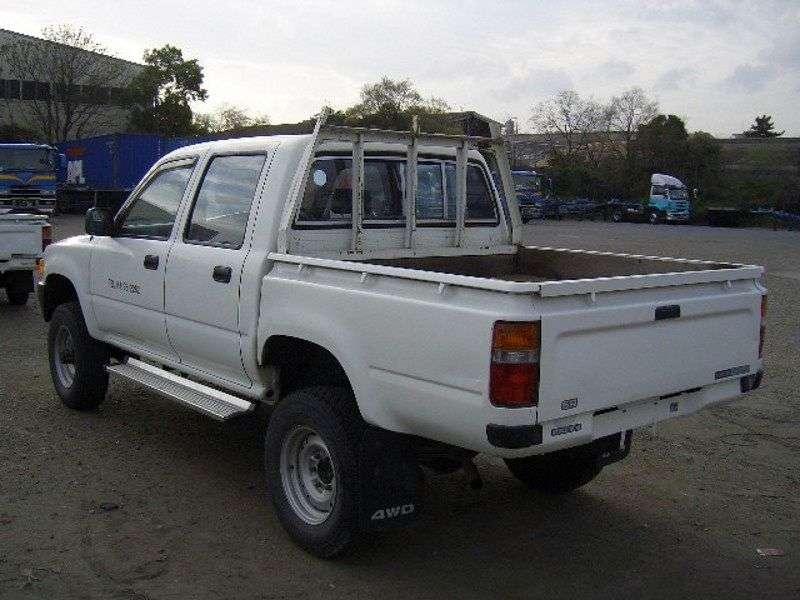 Toyota Hilux 5 generation pickup 4 bit. 2.4 D MT (1989–1991)