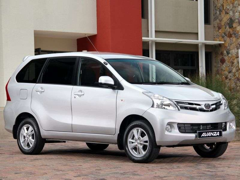 Toyota Avanza 2nd generation minivan 1.5 MT (2012 – n.)