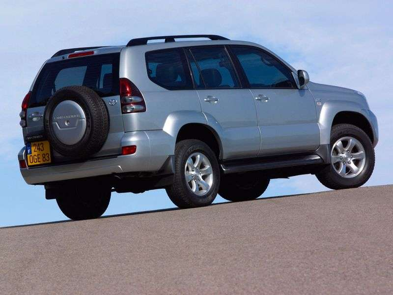 Toyota Land Cruiser Prado J120 5 door SUV. 4.0 AT (2002–2009)