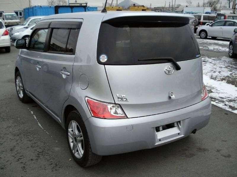 Toyota BB minivan 2.generacji [zmiana stylizacji] 1.5 AT 2WD (2008 obecnie)