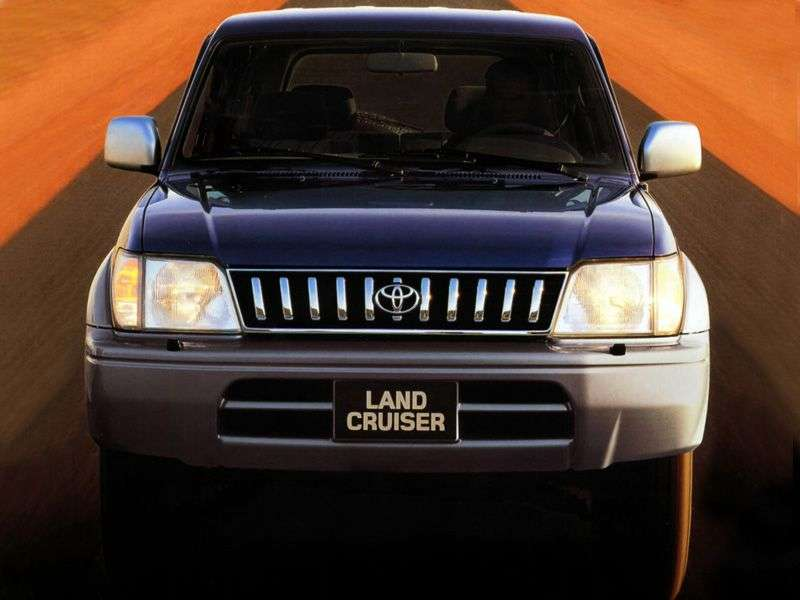 Toyota Land Cruiser Prado J90 5 door SUV. 3.0 TD AT (1996–2000)