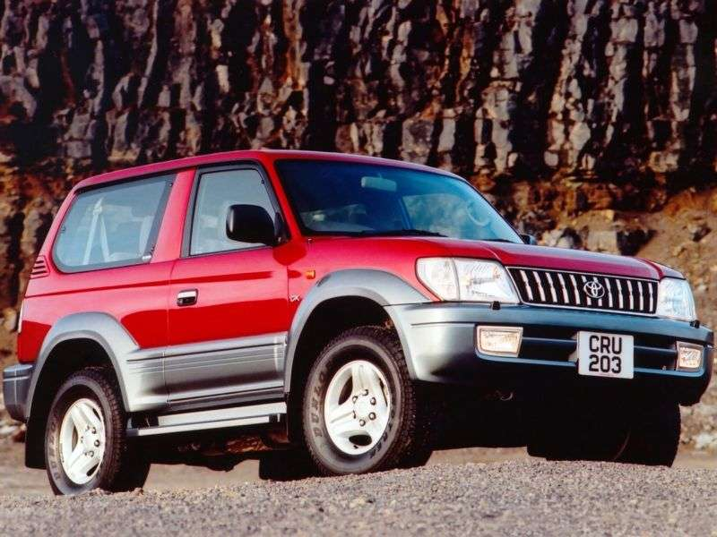 Toyota Land Cruiser Prado J90 [restyling] 3 dv SUV 3.4 AT (2000–2002)