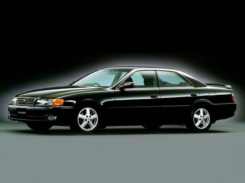 Toyota Chaser X100 [restyled] 2.5 Twin Turbo AT Sedan (1998–2001)