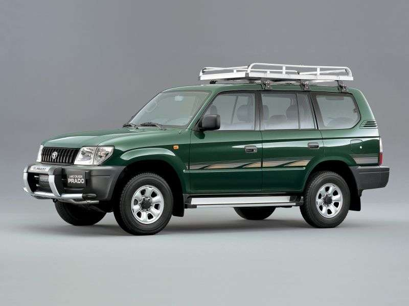 Toyota Land Cruiser Prado J90 [restyling] SUV 5 doors 2.7 MT (2000–2002)