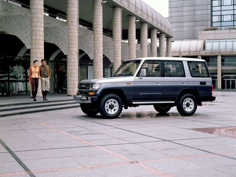 Toyota Land Cruiser Prado J70 5 door SUV. 3.0 DT MT (1993–1996)