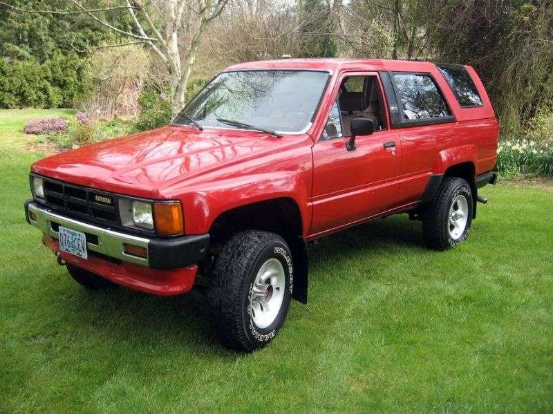 Toyota 4runner 1st generation pickup 2.4 MT (1984–1989)