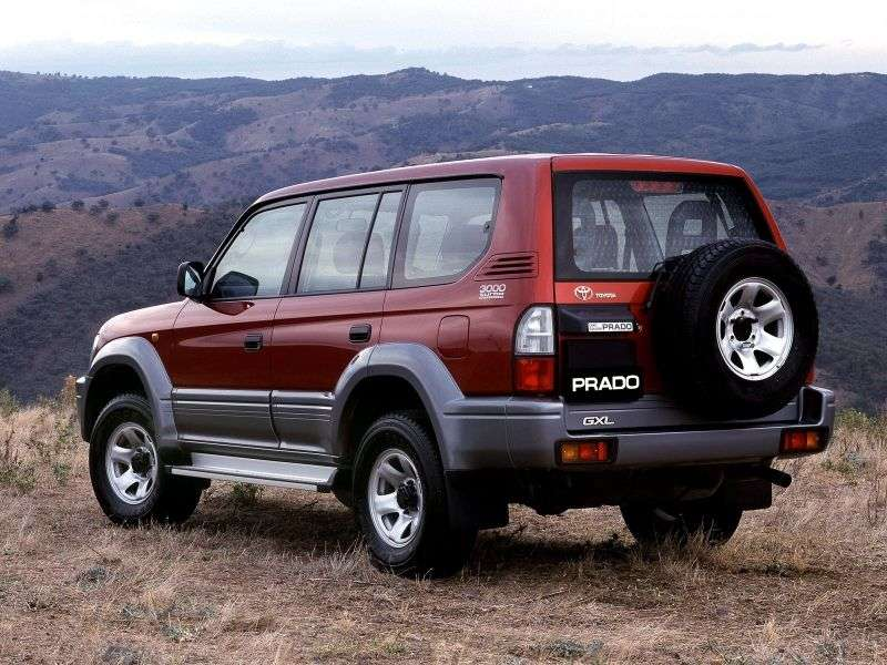 Toyota Land Cruiser Prado J90 [restyling] SUV 5 doors 3.4 AT (2000–2002)