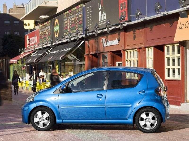 Toyota Aygo 1.generacja [zmiana stylizacji] hatchback 1.0 MMT (2008 2012)