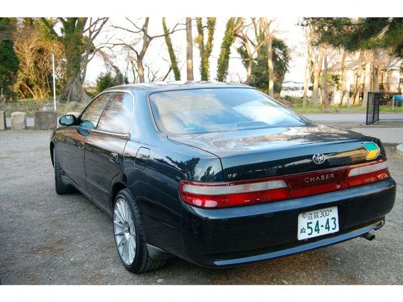 Toyota Chaser X90 [restyled] 1.8 MT hardtop (1994–1996)