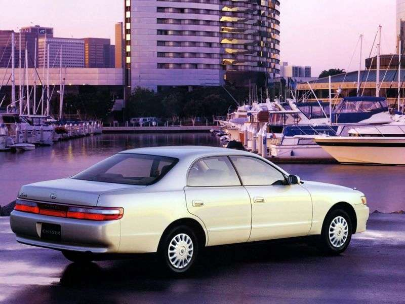 Toyota Chaser X90 [restyled] hardtop 2.4 TD AT (1994–1996)