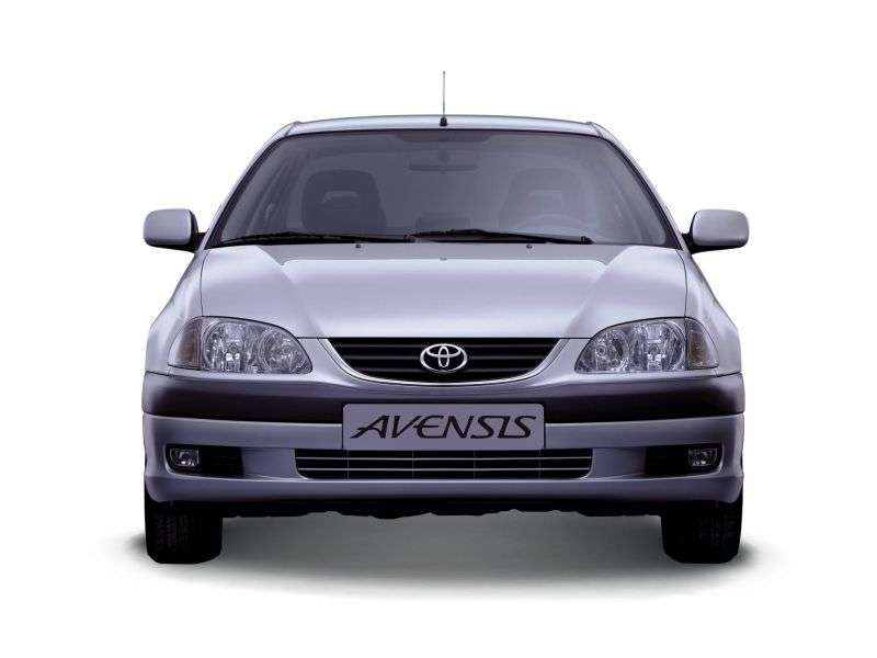 Toyota Avensis 1st generation [restyled] 1.6 MT sedan (2000–2003)