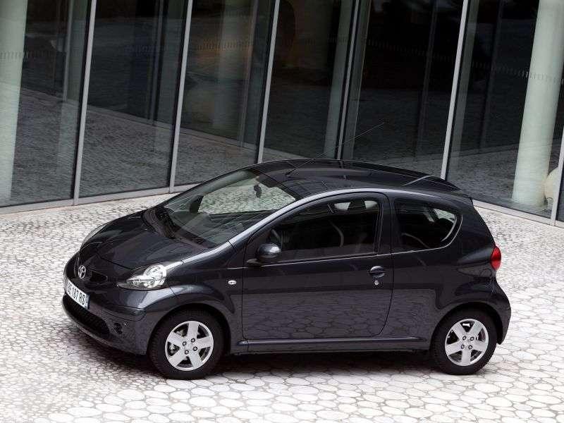 Toyota Aygo 1st generation hatchback 3 dv. 1.0 MMT (2005–2008)