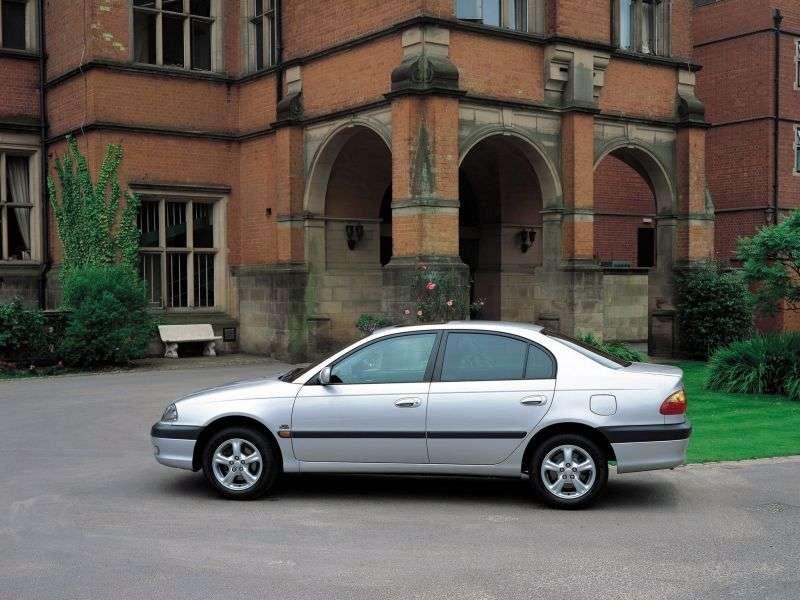 Toyota Avensis 1st generation 1.6 MT sedan (1997–2000)