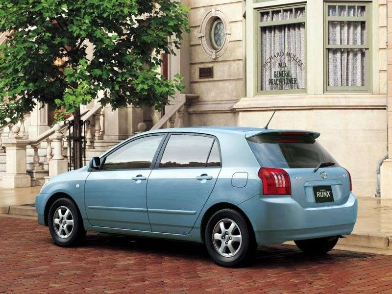 Toyota Corolla E120RunX hatchback 5 bit. 1.5 AT 4WD (2001–2004)