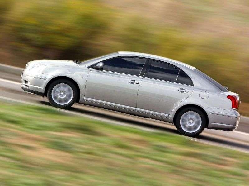 Toyota Avensis 2nd generation liftback 1.8 MT (2002–2006)