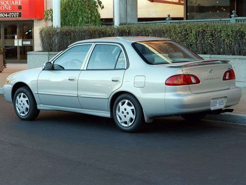 Toyota Corolla E110sedan 4 dv. 1.8 4AT (1997–1999)
