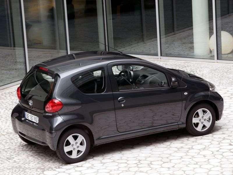 Toyota Aygo 1st generation hatchback 3 dv. 1.0 MT (2005–2008)
