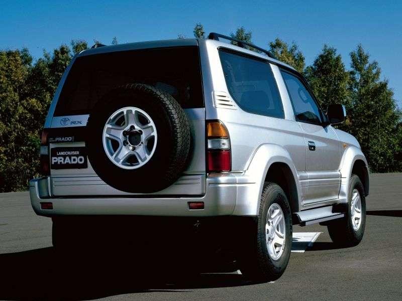 Toyota Land Cruiser Prado J90 3 bit off road vehicle 3.0 TD MT (1996–2000)