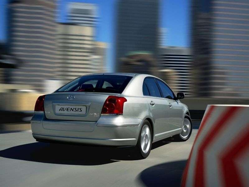 Toyota Avensis 2nd generation liftback 2.0 D MT (2002–2006)