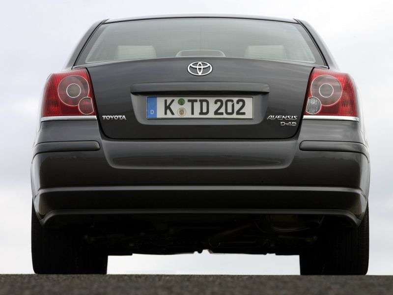 Toyota Avensis 2nd generation [restyled] sedan 1.8 AT (2006–2008)