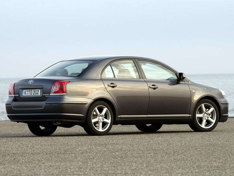 Toyota Avensis 2nd generation [restyling] 1.6 MT sedan (2006–2008)