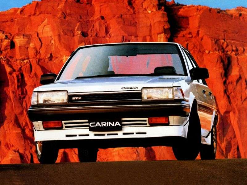 Toyota Carina T150JDM 4 door sedan. 1.5 4MT (1984–1986)