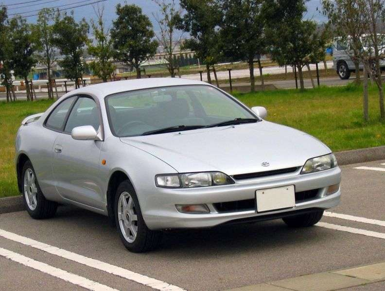 Toyota Curren ST200 [restyling] coupe 1.8 AT (1995–1998)