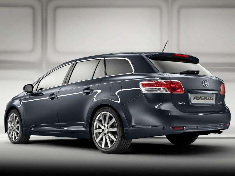 Toyota Avensis 3 generation universal 2.2 D 4D AT (2009–2011)