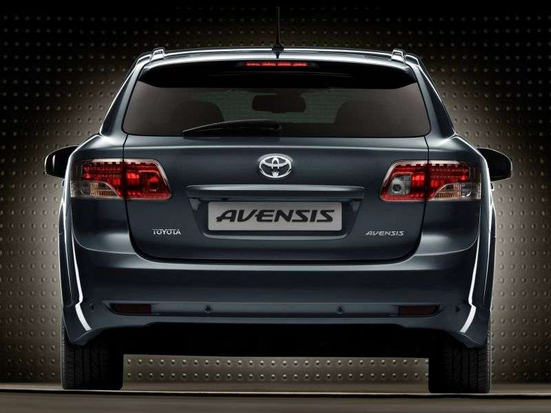 Toyota Avensis 3 generation wagon 2.0 MT (2009–2011)