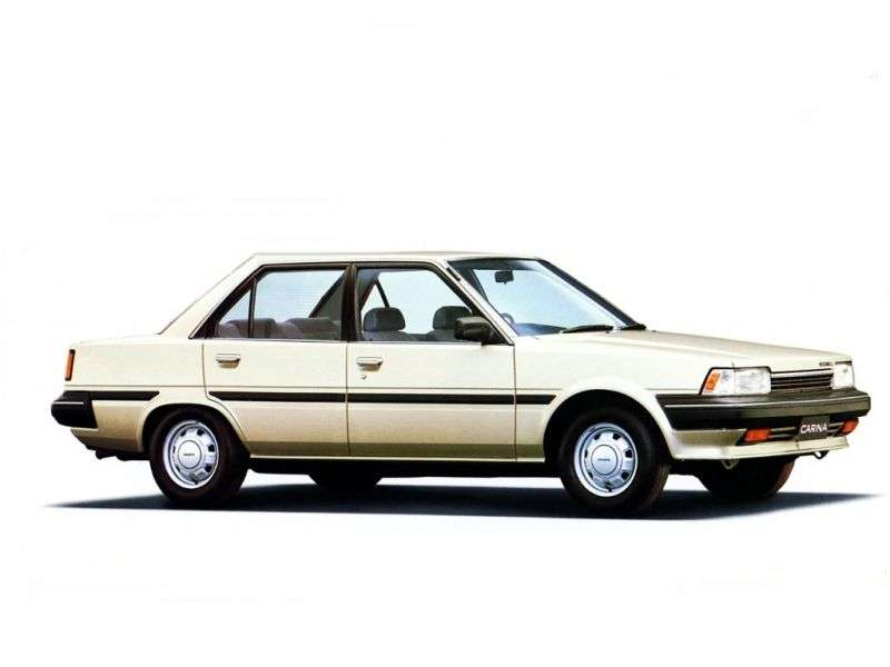 Toyota Carina T150JDM 4 door sedan. 1.5 AT Overdrive (1984–1986)