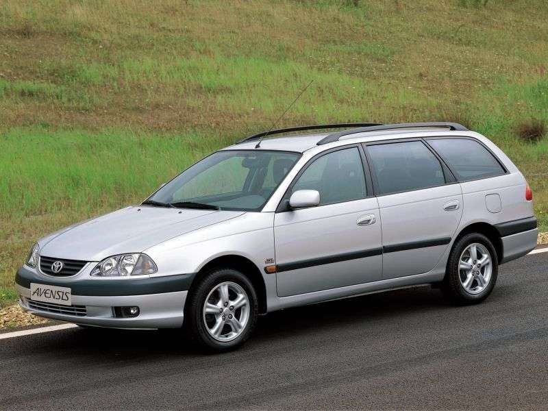 Toyota Avensis 1st generation [restyled] station wagon 2.0 D4 D MT (2000–2003)