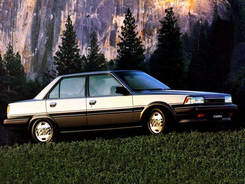 Toyota Carina T150JDM 4 door sedan. 1.6 MT (1984–1986)