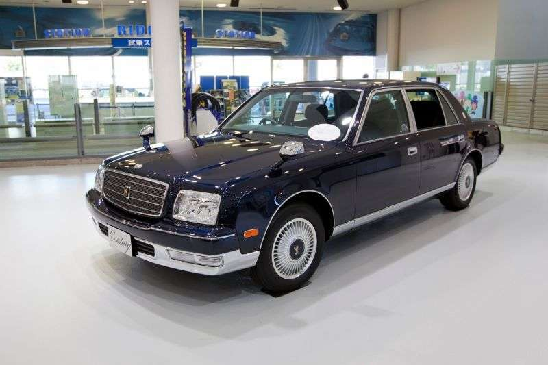 Toyota Century GZG50sedan 5.0 4AT (1997–2005)