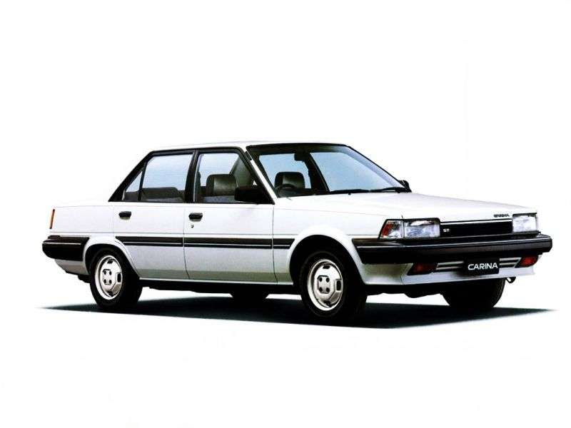 Toyota Carina T150JDM 4 door sedan. 1.5 5MT (1984–1986)